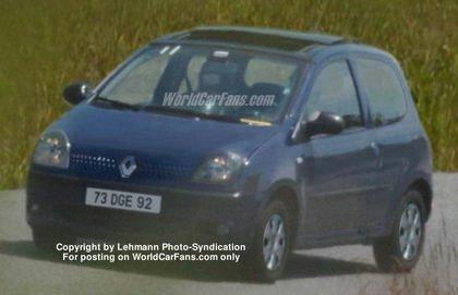 Renault Twingo II, primera foto espía