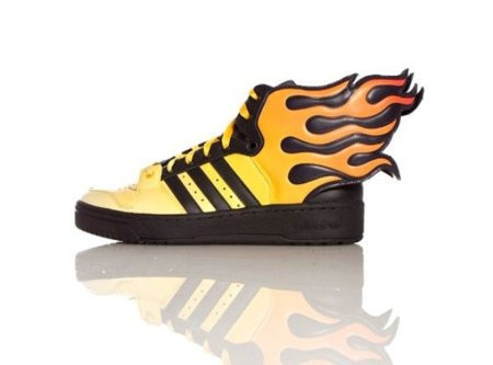 Zapatillas Adidas Wings 2.0 Flames por Jeremy Scott