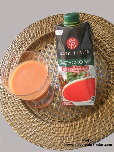 Gazpacho raf Santa Teresa. Cata de producto