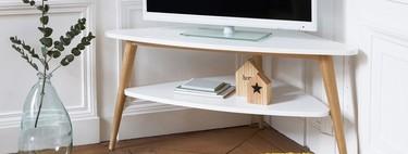 Casas pequeñas, once muebles esquineros muy prácticos cuando la falta de espacio es un problema