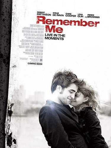 'Remember Me' con Robert Pattinson, cartel