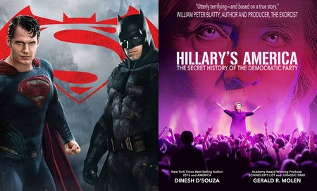'Batman v Superman' y un documental contra Hillary Clinton: lo peor del año según los Razzies 2017