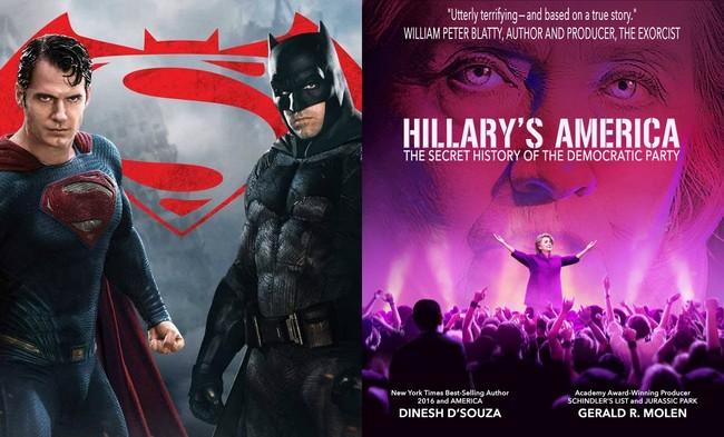 Batman v Superman y Hillary's America