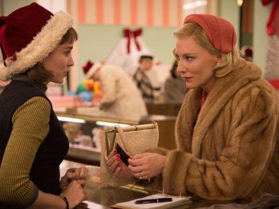 """El exquisito vestuario de la película """"Carol"""" con Cate Blanchett y Rooney Mara"""