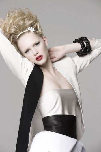 Cortes de pelo 2011: New Look y sus propuestas rubio platino para la Primavera-Verano 2011