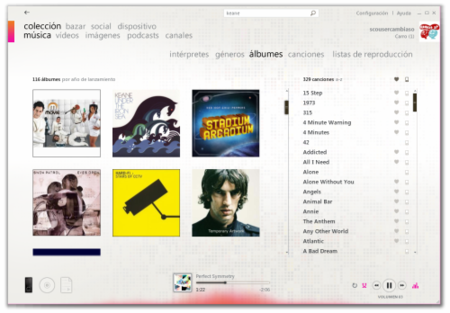Albumes Software Zune