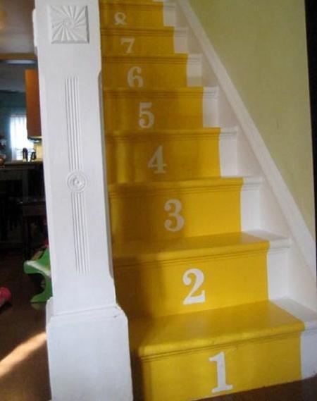 Escalera numerada