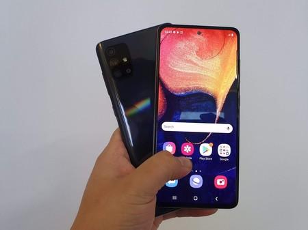 Samsung Galaxy A71 A51 Primeras Impresiones Mexico Pantalla