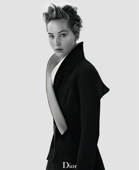 Jennifer Lawrence, elegantísima y... ¿brillante? para Dior