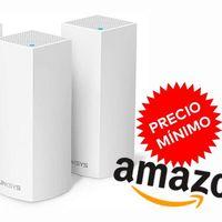 Ofertón. El sistema WiFi en malla más vendido en Amazon, el Linksys WHW0303, está ahora rebajado a 229 euros: su precio más bajo hasta la fecha