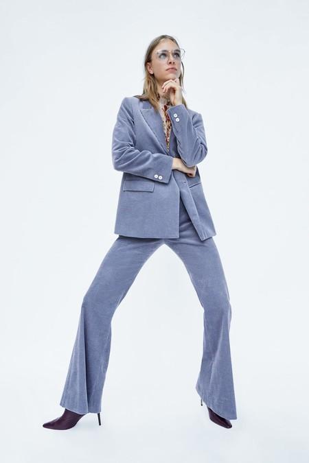 Pantalones Campana Zara