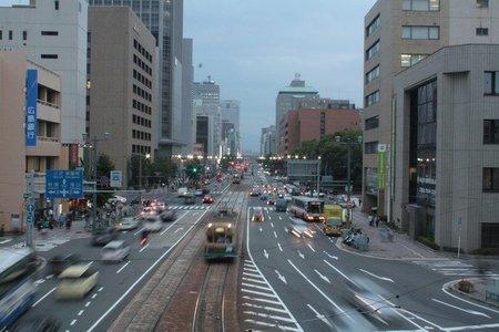 Tráfico en Hiroshima