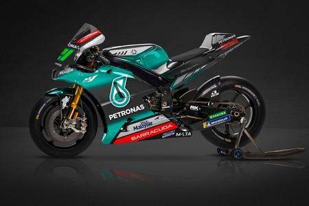 Así es la Yamaha YZR-M1 del Petronas Yamaha SRT: el negro y el azul como protagonistas principales