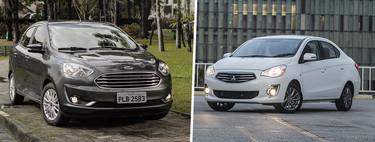 Ford Figo vs. Mitsubishi Mirage G4: ¿Cuál conviene comprar?