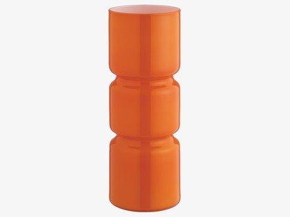 Lámpara de mesa Fitz para decorar con luz naranja
