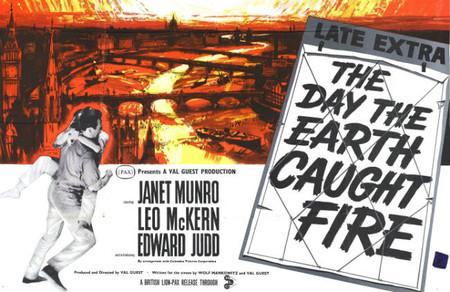 Ciencia-ficción: 'El día en que la Tierra se incendió', de Val Guest