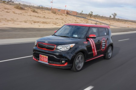 Kia Drive Wise: probando las tecnologías del coche autónomo en el Valle de la Muerte