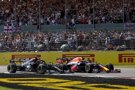 Hamilton Verstappen Silverstone F1 2021