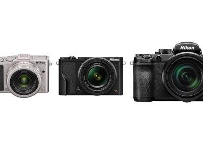 """La nueva gama de compactas de Nikon, ofrece fotos a 20,8MP y vídeos 4K en un sensor CX de 1"""""""