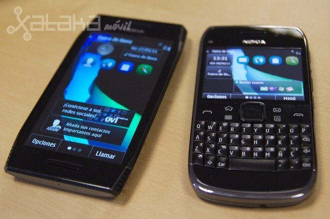 Symbian Anna llega a España