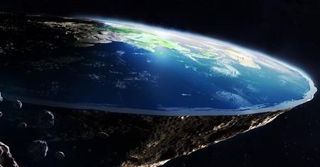 C mo son las personas que a n defienden que la tierra es plana for Que luna hay esta noche