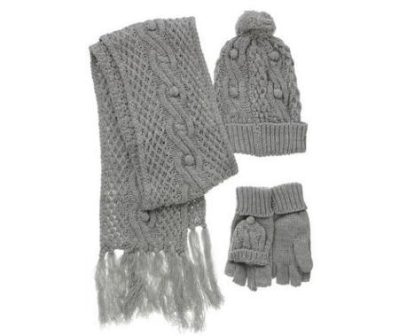 Bufanda, gorro y guantes de Primark