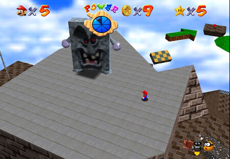 Super Mario 64: cómo conseguir la estrella Chip Off Whomp's Block de Whomp's Fortress