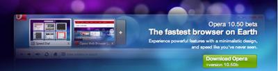 Opera 10.5 Beta: ¿el navegador más rápido del mundo?