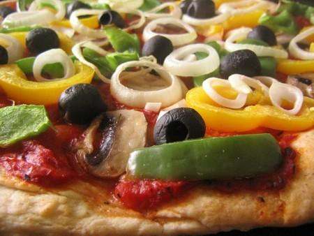Truco saludable: vegetales en la pizza