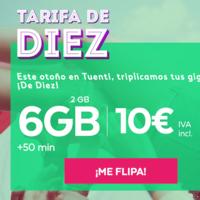 Tuenti estrena tarifa: 6 GB por solo 10 euros al mes, aunque solo durante seis meses