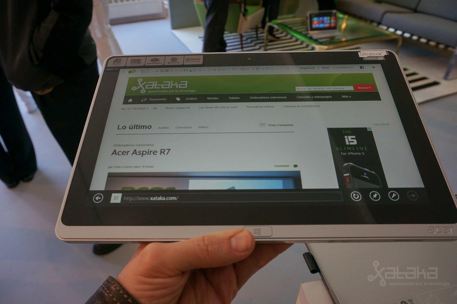 Foto de Acer Aspire P3, presentación en NY (3/7)