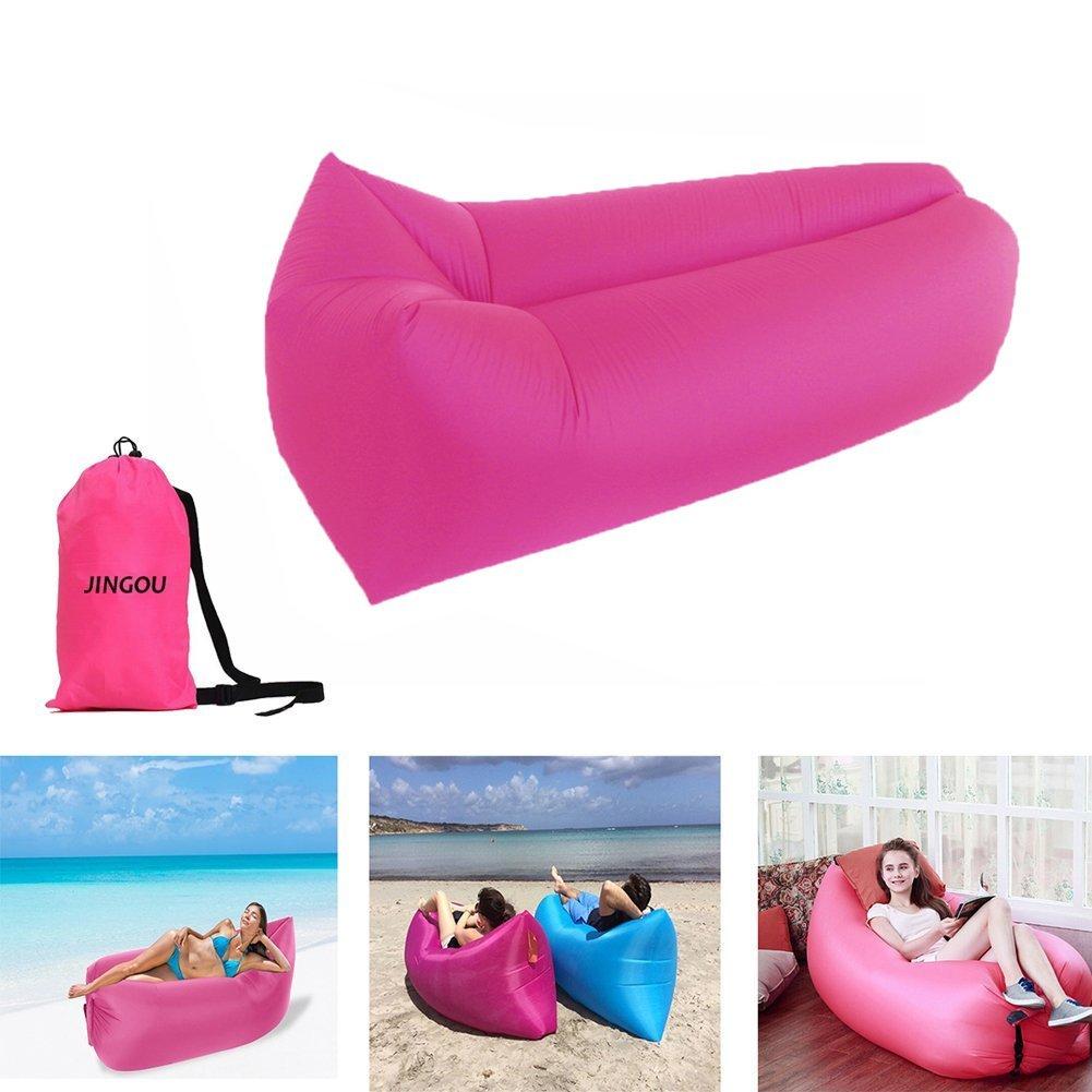 Sof cama de aire ideal para la playa por s lo 12 37 euros for Sofas cama por 100 euros