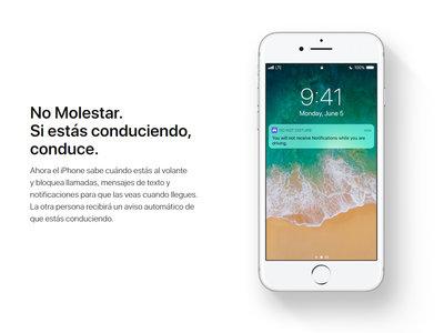 """""""No molestar"""": Apple bloqueará las notificaciones de tu teléfono al volante, pero sólo si tú le dejas"""