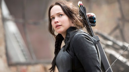 Jennifer Lawrence As Katniss Everdeen 1920x1080
