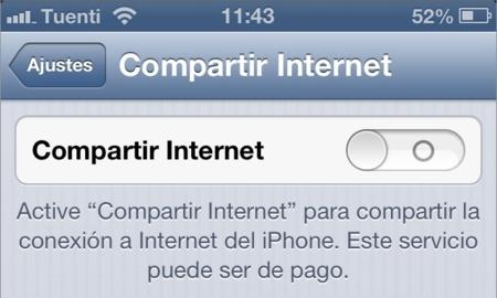 ¿Compartes internet mediante Wifi? Quizás te interese más el modo Bluetooth para ahorrar batería