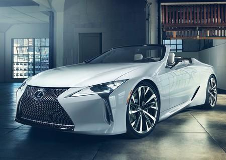 El Lexus LC Convertible de producción podría debutar en Goodwood