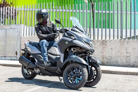 Yamaha Tricity 300 2020 Prueba 024