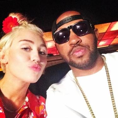 Mira qué calladito se tenía Miley Cyrus que ya tiene churri