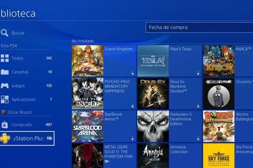 Ya está disponible el firmware 5.50 de PS4. Te recordamos todas sus novedades