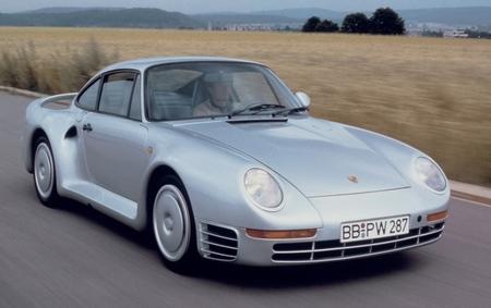 Porsche 959 plata