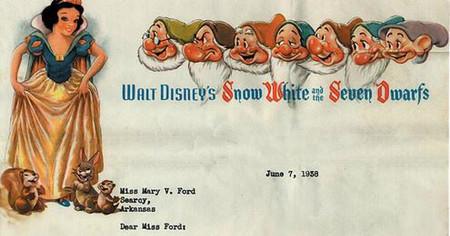 """""""Querida señorita Ford, no contratamos a mujeres"""": la carta de rechazo que mandó Disney en 1938"""