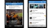 La aplicación móvil de Twitter se actualiza haciendo hincapié en lo visual