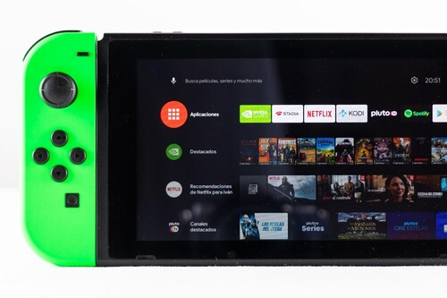 Probamos Android TV en la Nintendo Switch: consola portátil, de sobremesa y Smart TV