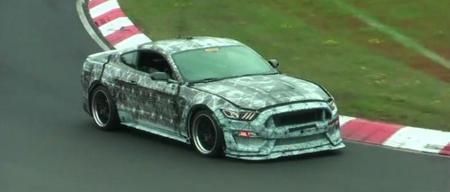 Video: ¿El Ford Mustang GT 350 2015 aparece en Nürburgring?
