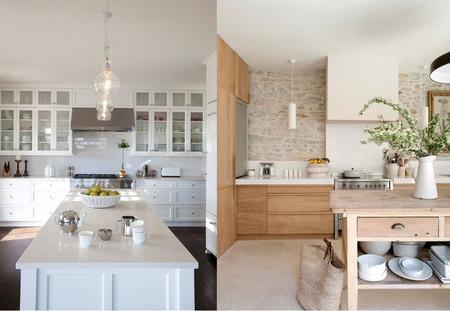 17 ideas exitosas para crear tu cocina monocromática sin muchas complicaciones