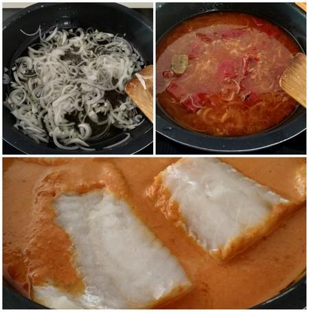 bacalao salsa pimientos