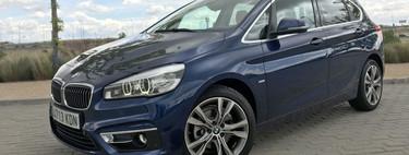 Probamos el BMW 218d Active Tourer, 150 CV de monovolumen para plantar cara a los SUV