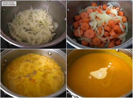 Paso A Paso Crema De Zanahoria