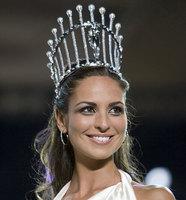 Estíbaliz Pereira, ganadora de Miss España 2009
