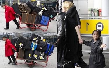 Madonna, no sin mis maletas